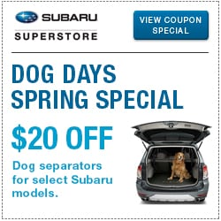 Browse our dog compartment separator parts special at Subaru Superstore of Surprise