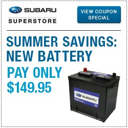 Browse our battery service special at Subaru Superstore of Surprise
