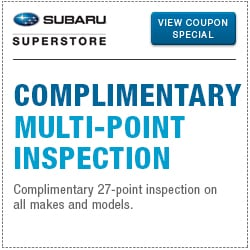 Click to browse our complimentary mult-point inspection service special in Chandler, AZ