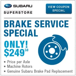 Click to browse our brake service special in Chandler, AZ