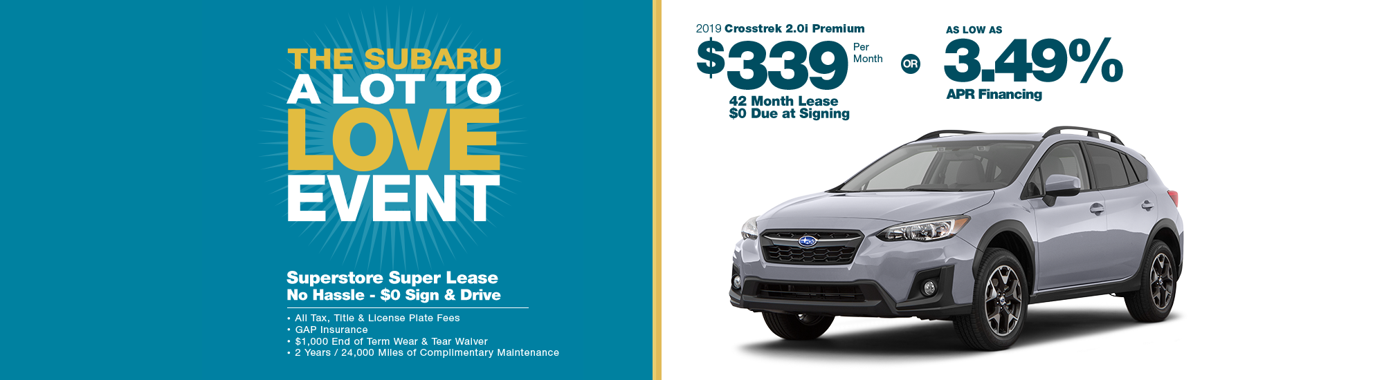 New Subaru Special Offers in Chandler, AZ | Subaru