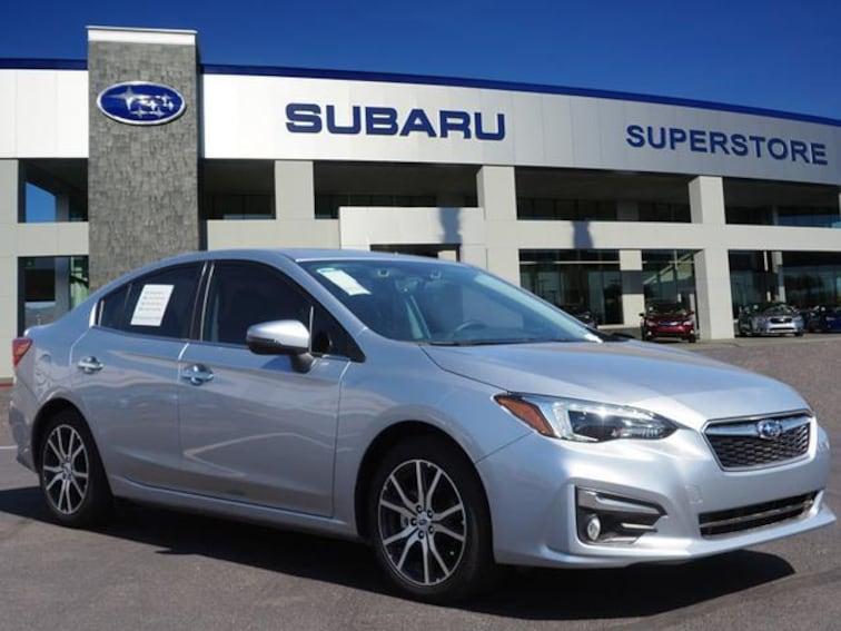 2018 Subaru Impreza 2.0i Limited with EyeSight, Moonroof, Blind Spot Detection, Navigation & Starlink Sedan Chandler, AZ