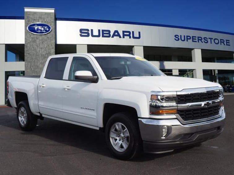 Used 2018 Chevrolet Silverado 1500 2WD Crew Cab 143.5 LT w/1LT Crew Cab Pickup in Surprise, AZ