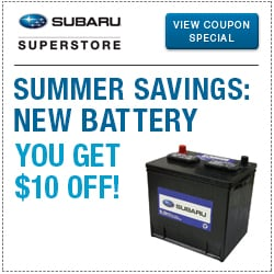 Click to view our battery parts special at Subaru Superstore of Chandler