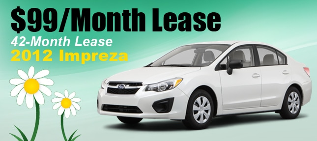 2012 Subaru Impreza New Car Special At Superstore Of Chandler
