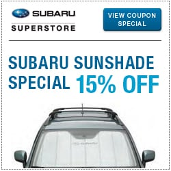 Click to view our sunshade parts special at Subaru Superstore of Chandler