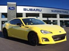 2017 Subaru BRZ Series.Yellow Manual Car