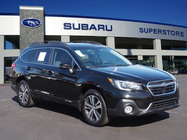 2018 Subaru Outback 2.5i Limited with EyeSight, Navigation, High Beam Assist, Reverse Auto Braking, LED Headlights, Steering Responsive Headlights, and Starlink SUV Chandler, AZ