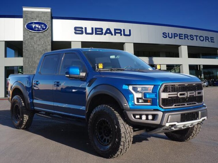 Used 2018 Ford F-150 Raptor 4WD Supercrew 5.5 Box Crew Cab Pickup in Surprise, AZ