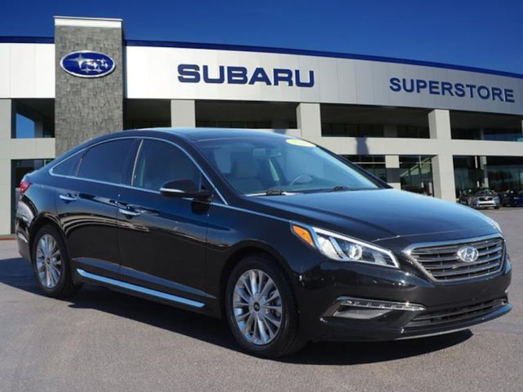 Used 2015 Hyundai Sonata 4dr Sdn 2.4L Limited Pzev Car in Surprise, AZ