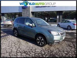 Certified Pre-Owned 2017 Subaru Forester 2.5i Premium AWD 2.5i Premium  Wagon CVT HH520737 in Newton, NJ