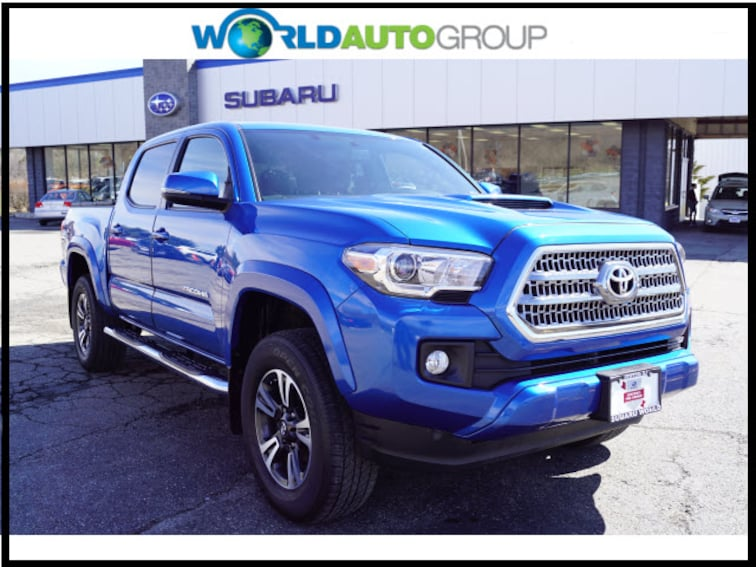 Used 2016 Toyota Tacoma TRD Sport 4x4 TRD Sport  Double Cab 5.0 ft SB 6A GX031673 For Sale Newton NJ