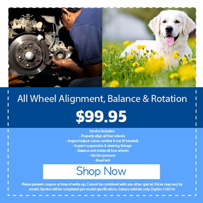All Wheel Alignment, Balance & Rotation