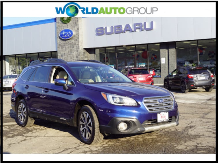 Certified Pre Owned 2015 Subaru Outback 3.6R Limited AWD 3.6R Limited  Wagon F3331981 For Sale Newton, NJ