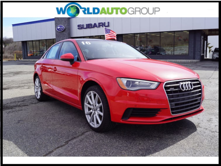 Used 2016 Audi A3 2.0T Quattro Premium AWD 2.0T quattro Premium  Sedan G1014773 For Sale Newton NJ