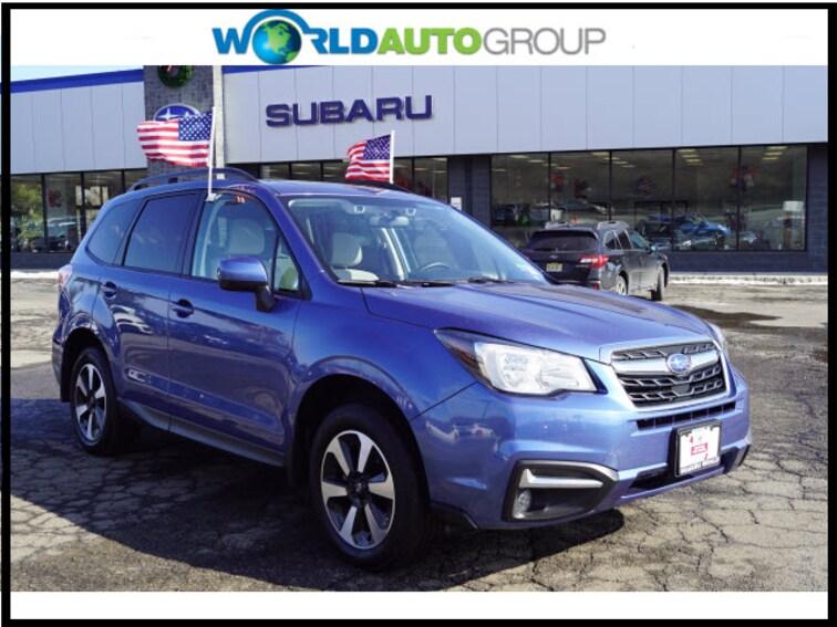 Certified Pre Owned 2018 Subaru Forester 2.5i Premium AWD 2.5i Premium  Wagon CVT JH539281 For Sale Newton, NJ