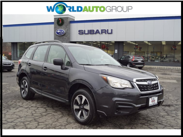 Certified Pre Owned 2018 Subaru Forester 2.5i AWD 2.5i  Wagon CVT JH505248 For Sale Newton, NJ