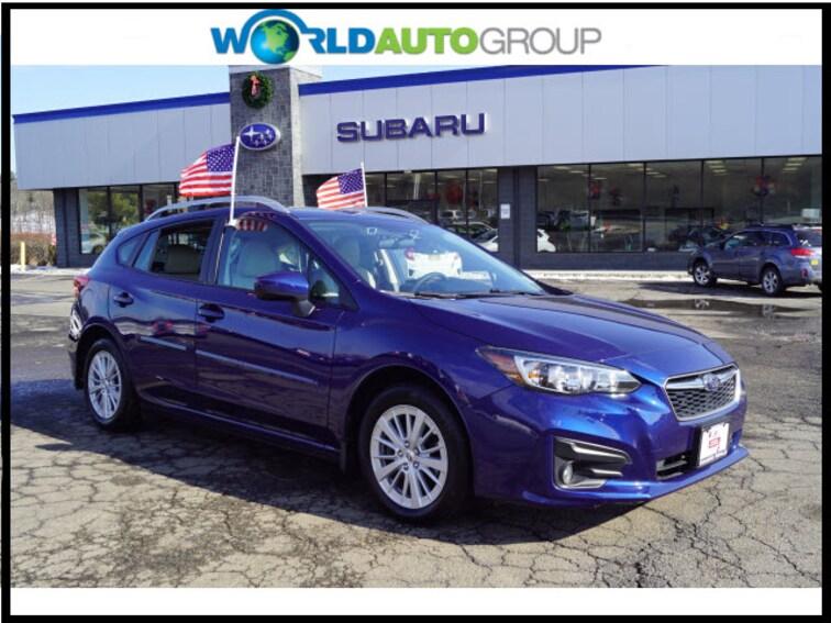 Certified Pre Owned 2018 Subaru Impreza 2.0i Premium AWD 2.0i Premium  Wagon J3726039 For Sale Newton, NJ