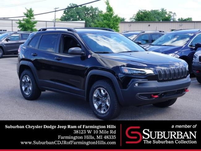 New 2019 Jeep Cherokee TRAILHAWK ELITE 4X4 Sport Utility in Farmington Hills, MI