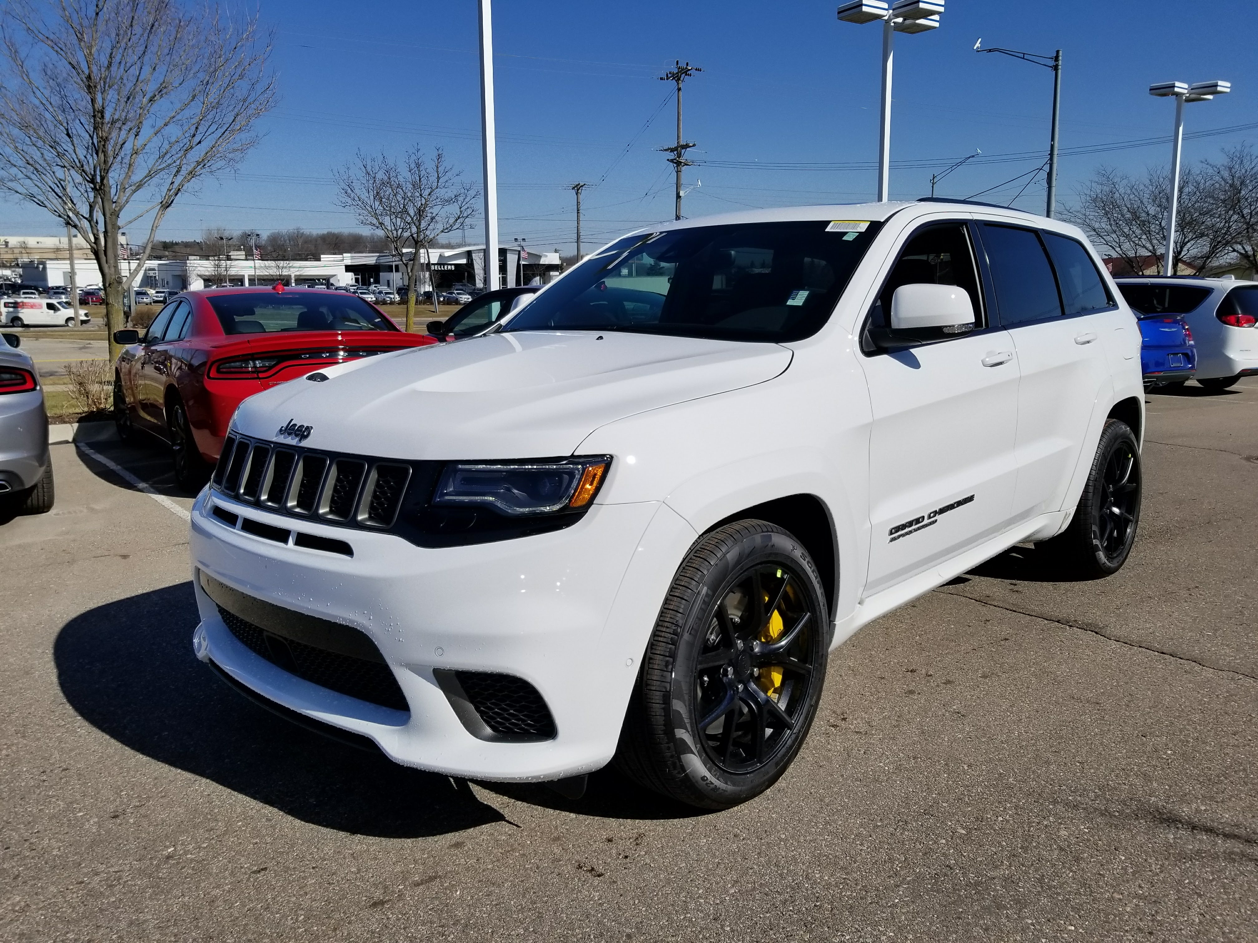 2018 jeep grand cherokee trackhawk 4x4 for sale in