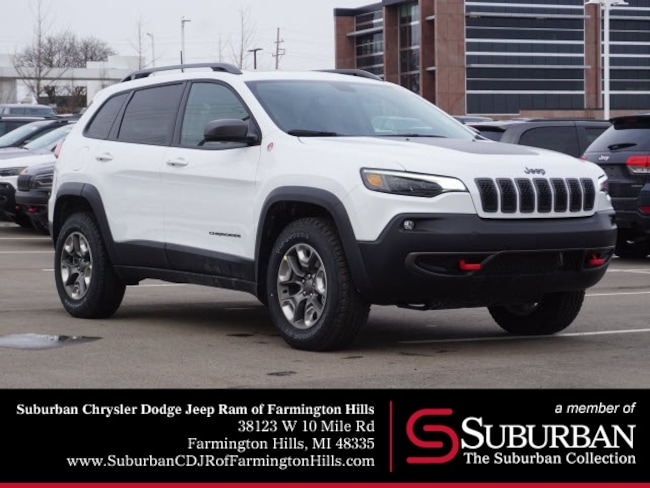 New 2019 Jeep Cherokee TRAILHAWK 4X4 Sport Utility in Farmington Hills, MI