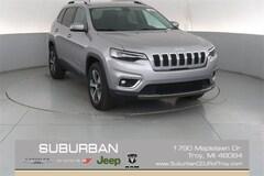 2019 Jeep Cherokee LIMITED 4X4 Sport Utility troy mi
