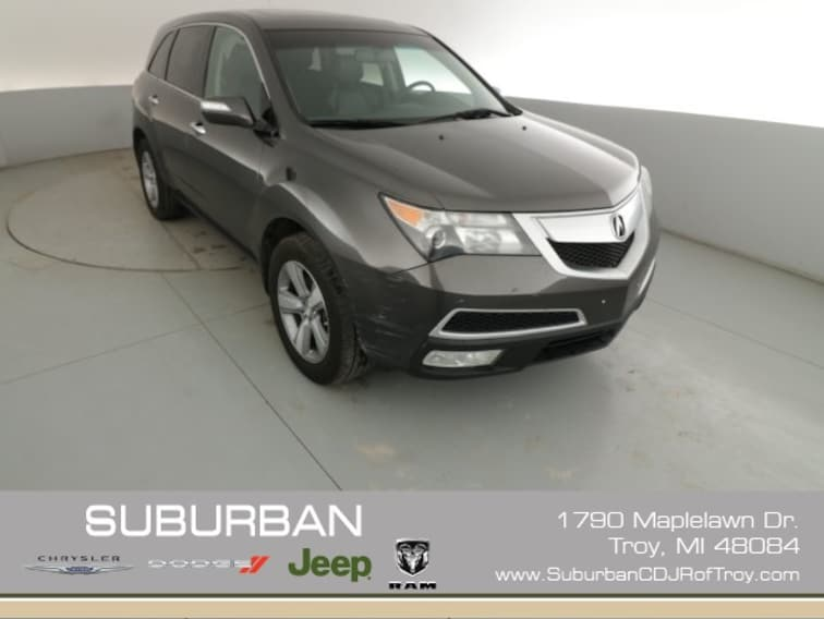 Acura Of Troy >> Used 2012 Acura Mdx For Sale In Troy Mi Near Rochester Mi