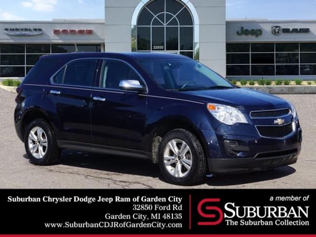 Used 2015 Chevrolet Equinox LS SUV in Garden City, MI