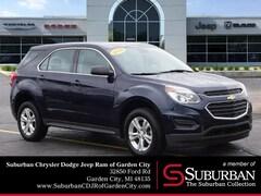 2016 Chevrolet Equinox LS SUV in Garden City, MI