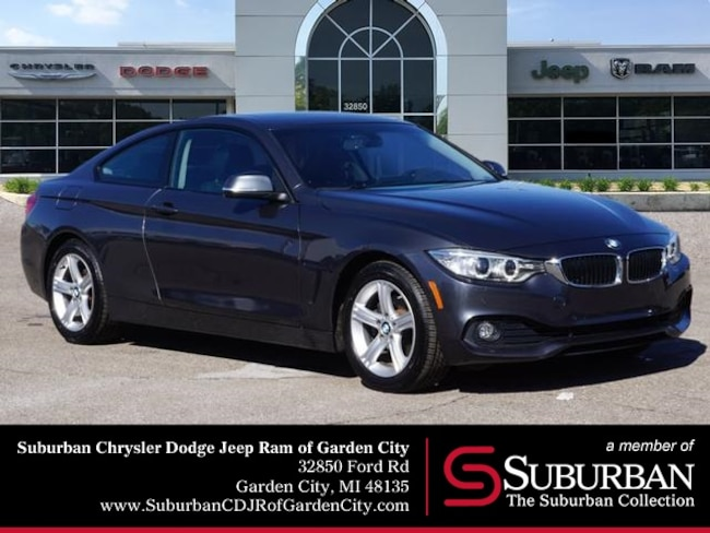Used 2014 BMW 4 Series 428i Xdrive Coupe in Garden City, MI