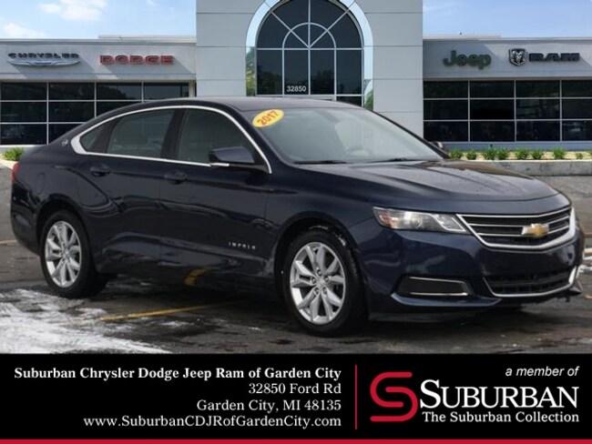 Used 2017 Chevrolet Impala LT Sedan in Garden City, MI
