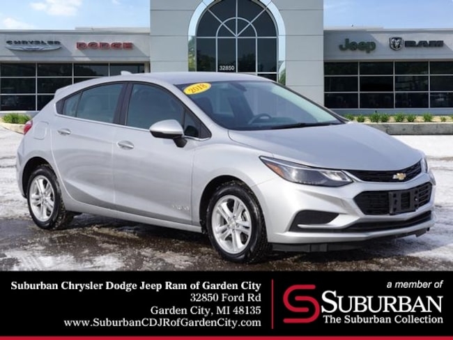 Used 2018 Chevrolet Cruze LT Hatchback in Garden City, MI