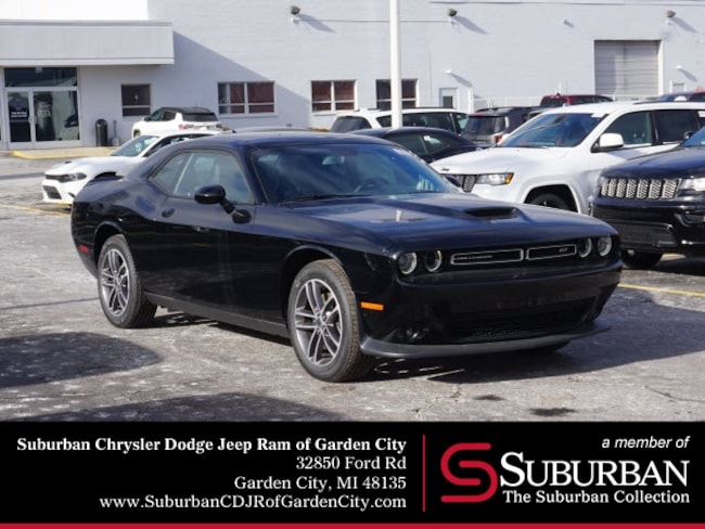 New 2019 Dodge Challenger GT AWD Coupe in Garden City, MI