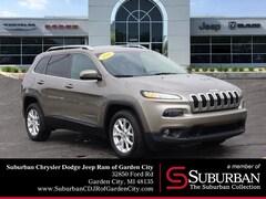 2016 Jeep Cherokee Latitude SUV in Garden City, MI