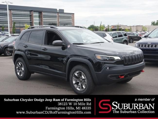 New 2019 Jeep Cherokee TRAILHAWK ELITE 4X4 Sport Utility in Garden City, MI