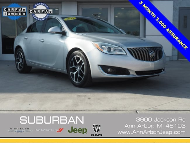 used 2017 buick regal turbo sport touring for sale in ann arbor mi
