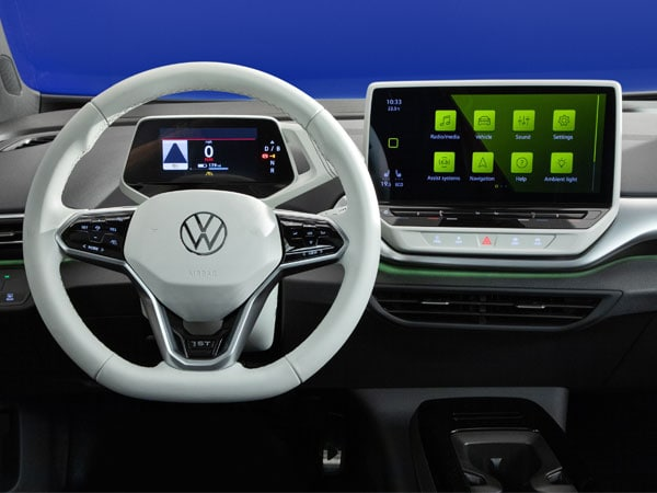 2021 Volkswagen ID.4 electric SUV Interior