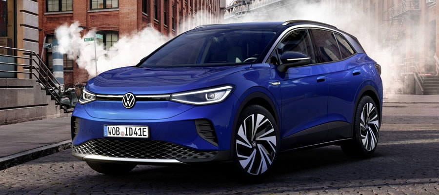 2021 Volkswagen ID.4 electric SUV