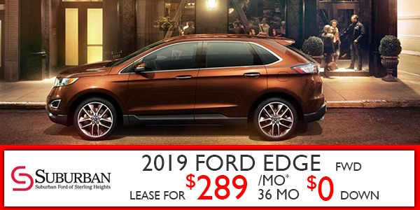 New Ford Edge Specials