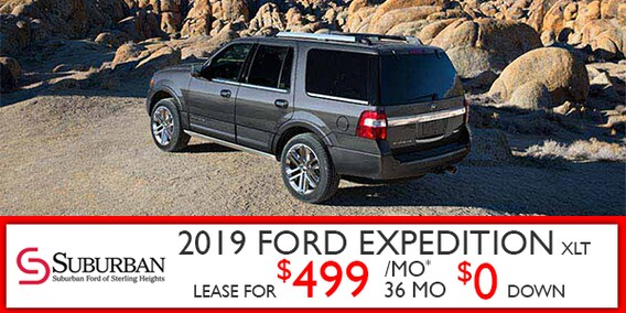 Ford Expedition Lease >> Find Your Lease On A New Ford Expedition In Mi At Suburban