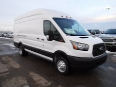 New 2019 Ford Transit-350 Base w/Sliding Pass-Side Cargo Door & 10,360 lb. GVWR Van High Roof HD Ext. Cargo Van Ferndale MI