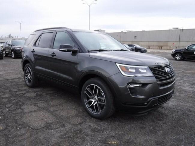 Ford Explorer Sport For Sale >> New 2019 Ford Explorer For Sale Sterling Heights Mi