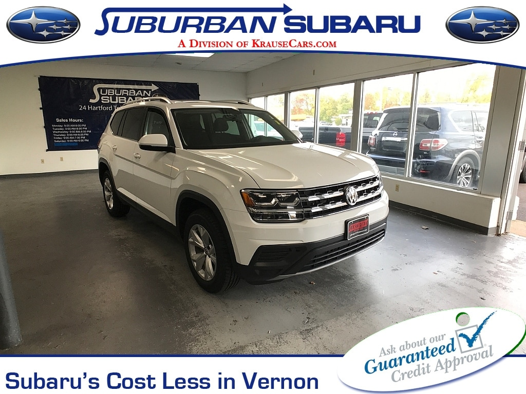Used Volkswagen Atlas Vernon Ct