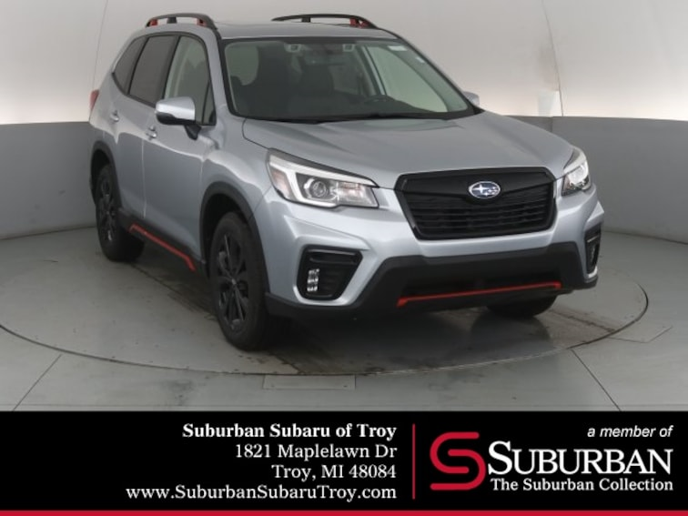 New 2019 Subaru Forester Sport SUV S3686 for sale in Troy, MI