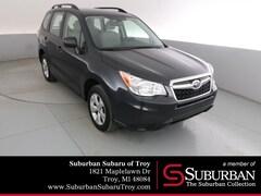 Used 2016 Subaru Forester 2.5i SUV SB11824 Troy, MI