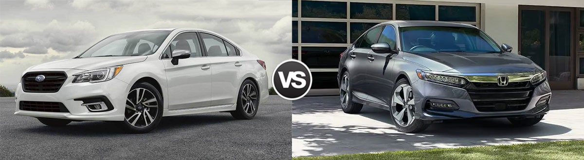 2019 Subaru Legacy vs 2019 Honda Accord