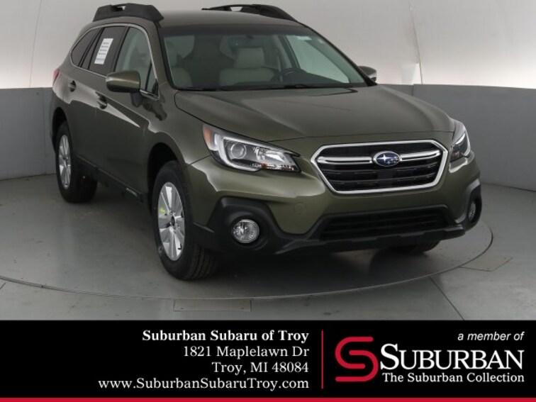 New 2019 Subaru Outback 2.5i Premium SUV S3418 for sale in Troy, MI