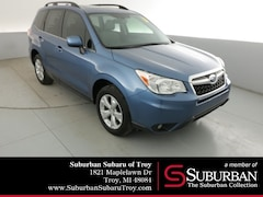 Certified Pre-Owned 2016 Subaru Forester 2.5i Limited SUV SB11689 Troy, MI