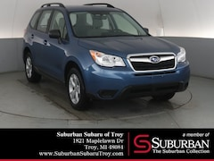 Certified Pre-Owned 2016 Subaru Forester 2.5i SUV SB11335 Troy, MI
