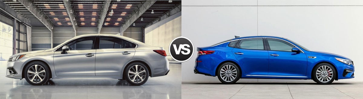 2019 Subaru Legacy vs 2019 Kia Optima
